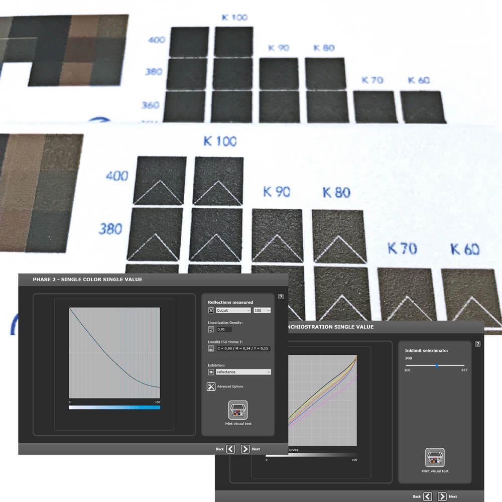 ColorSuite 7i - Linearizzazione-Ink Saving